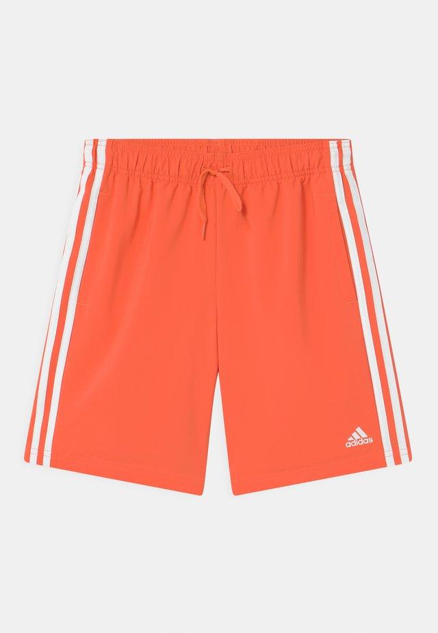 Short de sport - orange/white