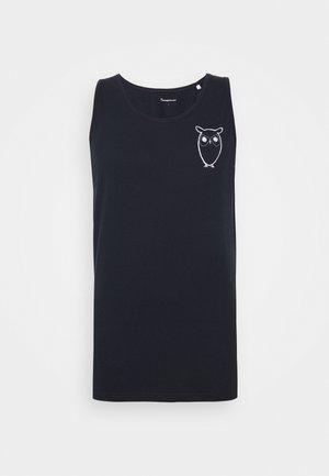 PALM OWL CHEST TANK - Top - dark blue