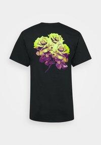 HUF - ROSE TEE - Print T-shirt - black - 1
