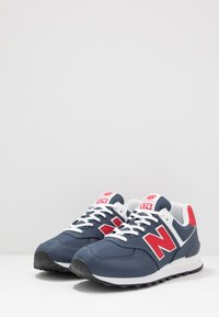 New Balance - Sneakersy niskie - grey/red - 2