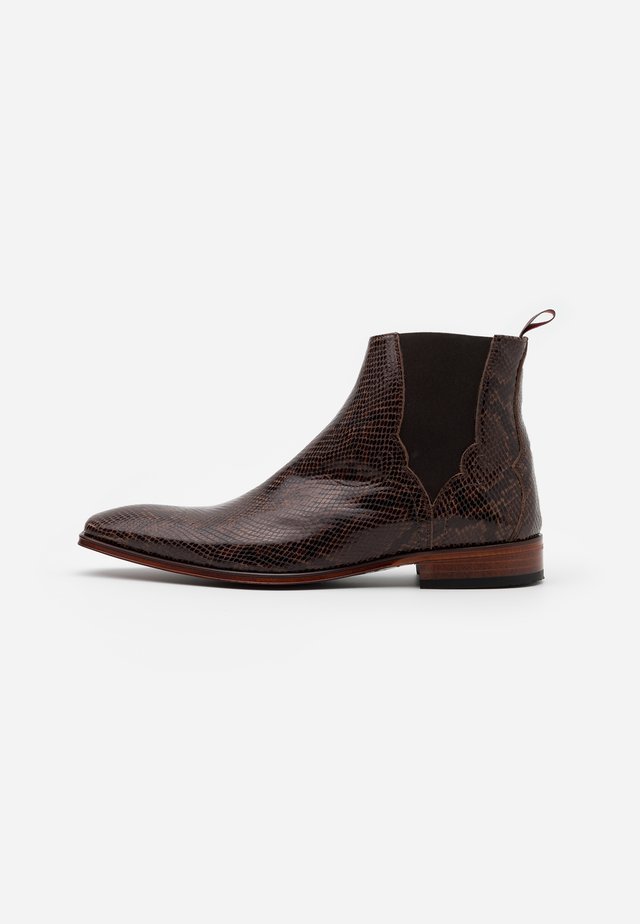 SCARFACE PLAIN CHELSEA - Classic ankle boots - amazonas pecan