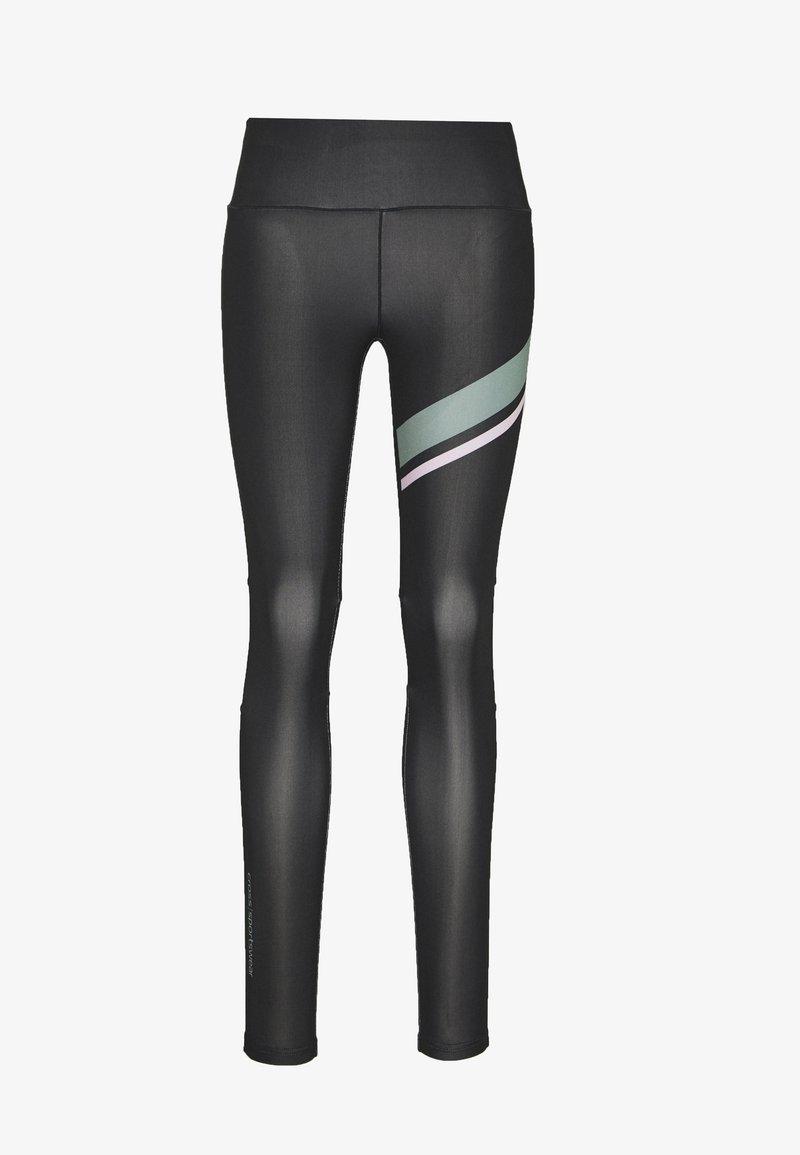 Cross Sportswear - ACTIVE TIGHTS - Legginsy - black
