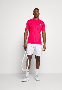 adidas Performance - CLUB SPORTS SHORT SLEEVE  - Sports shirt - power pink - 1