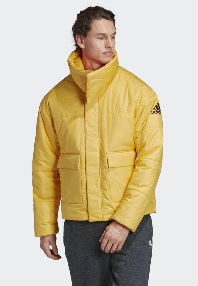 BIG BAFFLE JACKET - Chaqueta de invierno - yellow