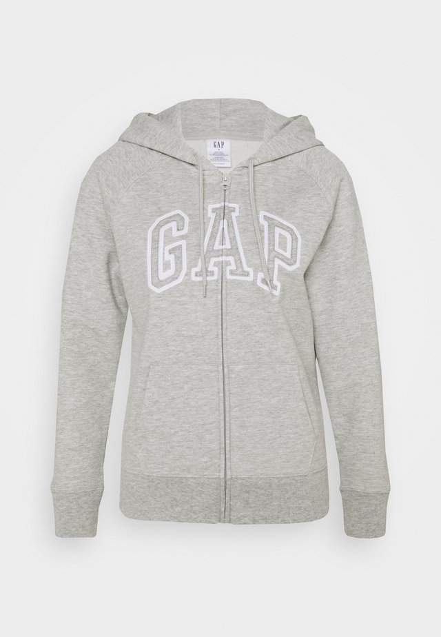 Sweatjakke /Træningstrøjer - light heather grey