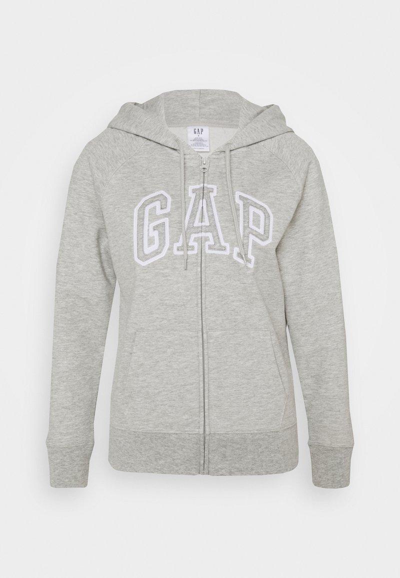 GAP - Zip-up hoodie - light heather grey