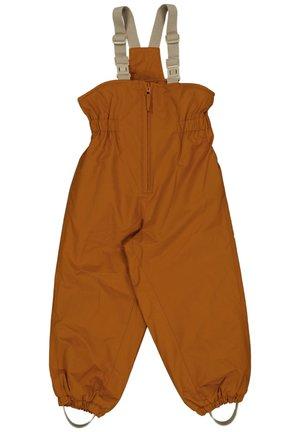 SKI PANTS UNISEX - Snow pants - cinnamon