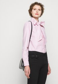 Polo Ralph Lauren - OXFORD - Button-down blouse - pink/navy - 4