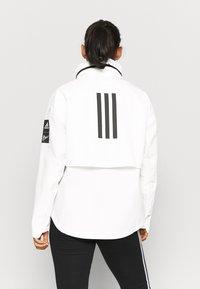 adidas Performance - MYSHELTER PAR - Chaqueta Hard shell - white - 2