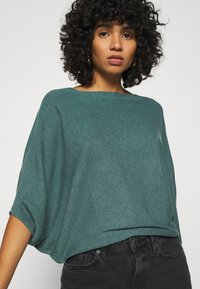 JDY - JDYNEW BEHAVE BATSLEEVE - Strickpullover - north atlantic melange - 3