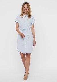 Vero Moda - Shirt dress - placid blue - 1