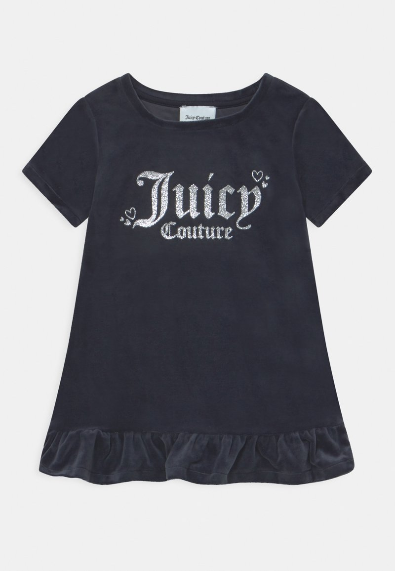 Juicy Couture - BABY HEART ONE FRILL HEM - Day dress - night sky