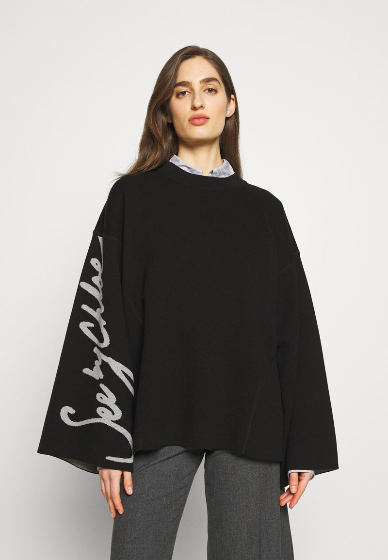 See by Chloé - Sweter - charcoal black