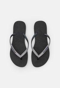 black/dark grey metallic