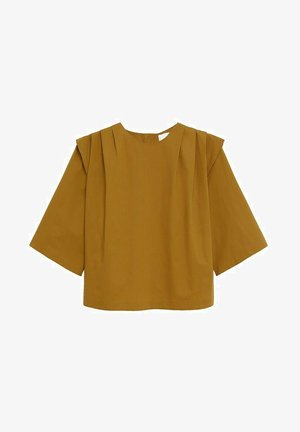 PILLU-H - Blouse - oker