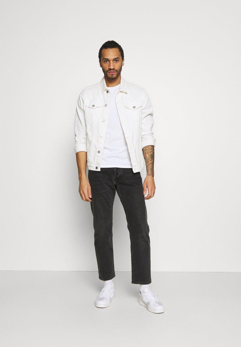Hollister Co. - CREW 7 PACK - T-shirt basic - white/black/grey siro/navy