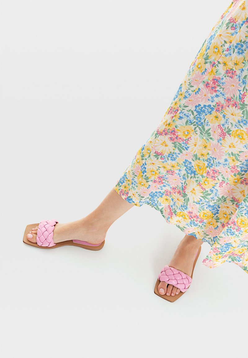 Stradivarius - Muiltjes - pink