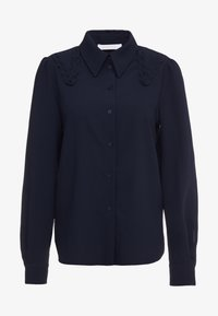 See by Chloé - Button-down blouse - ink navy - 4