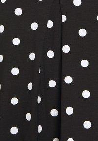 Even&Odd Petite - A-linjekjol - black/multi-coloured - 5