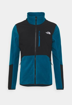 GLACIER PRO FULL ZIP - Fleecejacka - teal/black