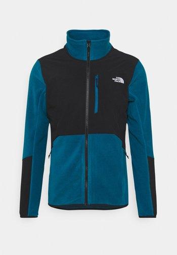 GLACIER PRO FULL ZIP - Fleece jacket - teal/black