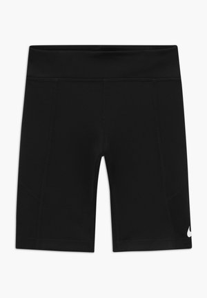 TROPHY BIKE SHORT - Legging - black/white