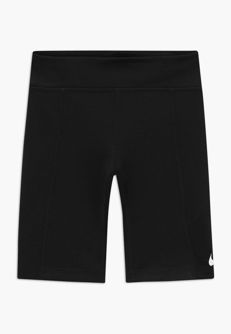 Nike Performance - TROPHY BIKE SHORT - Tights - black/white