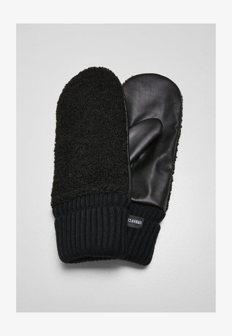 Urban Classics - Rękawiczki z jednym palcem - black