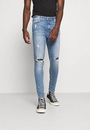 JJIPETE JJORIGINAL  - Jeans Tapered Fit - blue denim