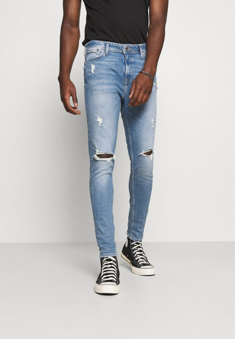 Jack & Jones - JJIPETE JJORIGINAL  - Jeans Tapered Fit - blue denim