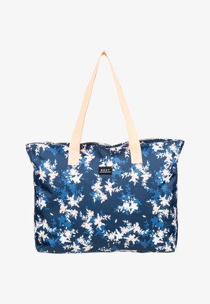 WILDFLOWER - Bolso shopping - mood indigo s aqua ditsy