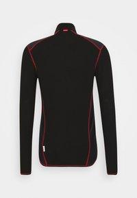 LÖFFLER - WINDSTOPPER® TRANSTEX® LIGHT - Funktionsshirt - black/red - 1