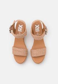 XTI - Sandales à talons hauts - nude - 5