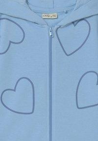 OVS - KID FULL ZIP WITH HOOD 2 PACK - Zip-up sweatshirt - ballad blue/morning glory - 3