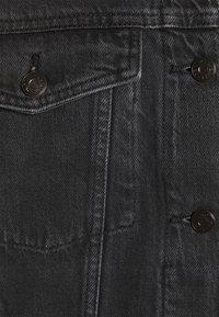 Monki - BONNIE JACKET - Denim jacket - black dark - 7