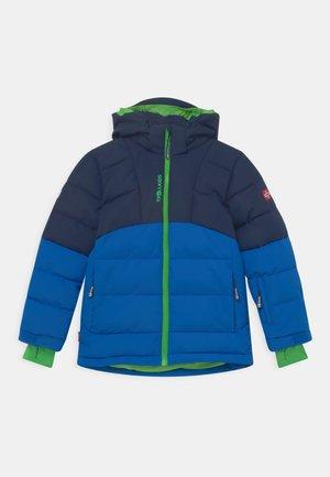 GRYLLEFJORD UNISEX - Winter jacket - navy/medium blue/bright green