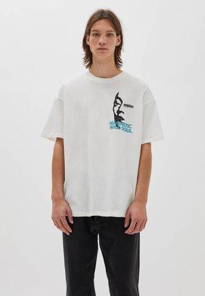 WILD SOUL - Print T-shirt - white