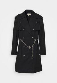 SNAP CHAIN BELT - Trenchcoat - black