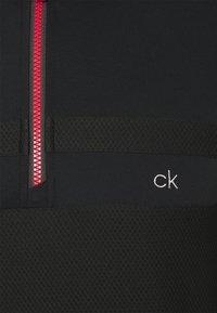 Calvin Klein Golf - BRAID HALF ZIP - Long sleeved top - black - 2