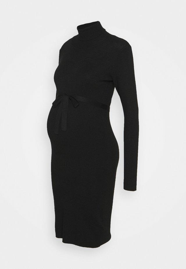 MLJACINA DRESS - Gebreide jurk - black