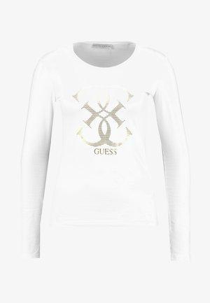 Maglietta a manica lunga - true white a000