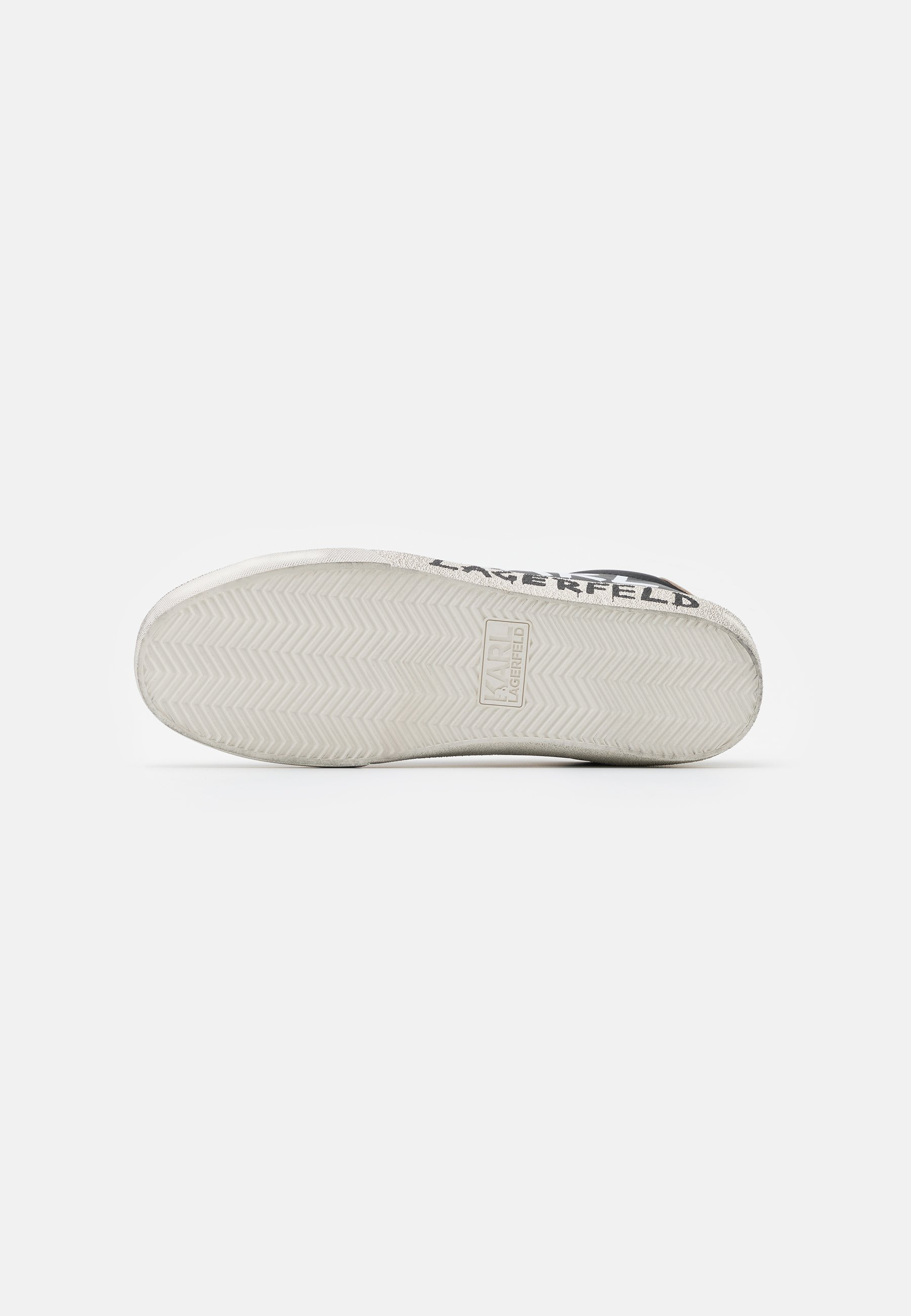 KARL LAGERFELD SKOOL BRUSH LOGO LACE - Sneaker low - black/schwarz - Herrenschuhe 2QcCI