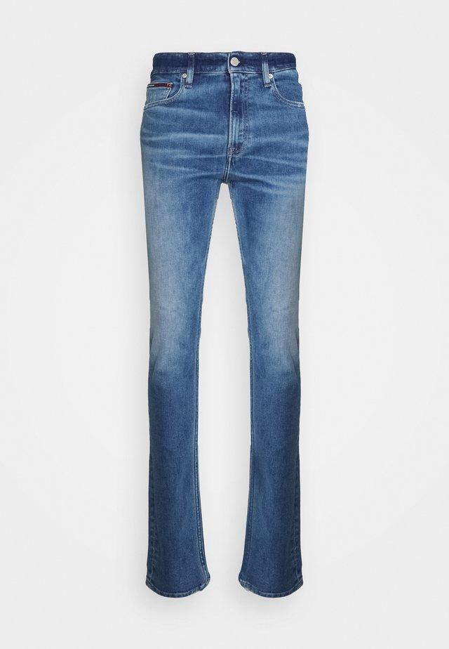 SIMON SKINNY - Jeans a zampa - denim