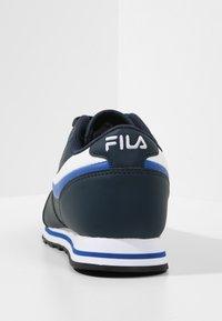 Fila - ORBIT - Trainers - dress blue / dazzling blue - 3