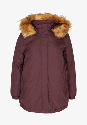 Down jacket - dark bordeaux