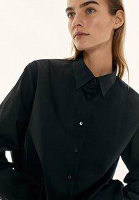 Massimo Dutti - Button-down blouse - black - 3