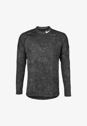 Funktionsshirt - black/lite smoke grey/white