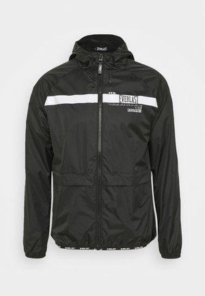 POP OVER RICKERS - Sportovní bunda - black