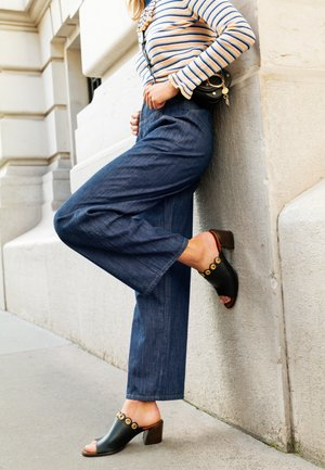 Široké džíny - denim blue