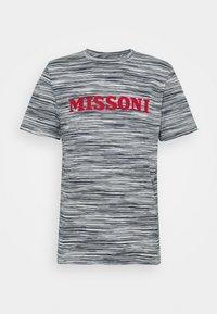 Missoni - SHORT SLEEVE - T-shirt print - bianco/blu - 4